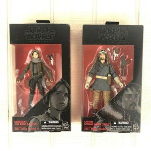 Star Wars Black Series Rouge One Erso & Andor